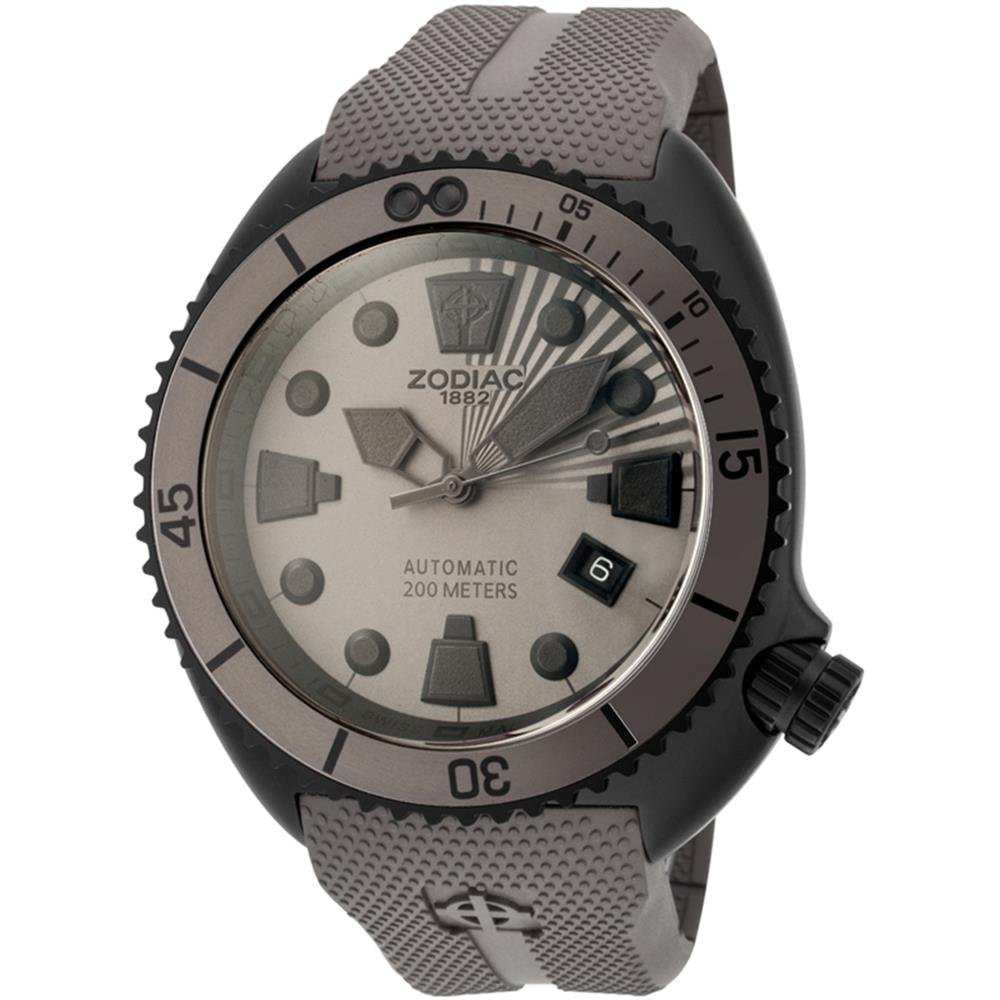 Zodiac Oceanaire Automatic, Durable, Rubber Strap, Automatic Watch, Water-resistant Watch