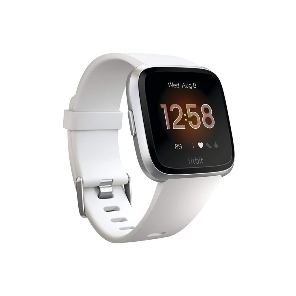 Fitbit Versa, Smartwatches, Functional Watch, Tracking Watch, White Watch