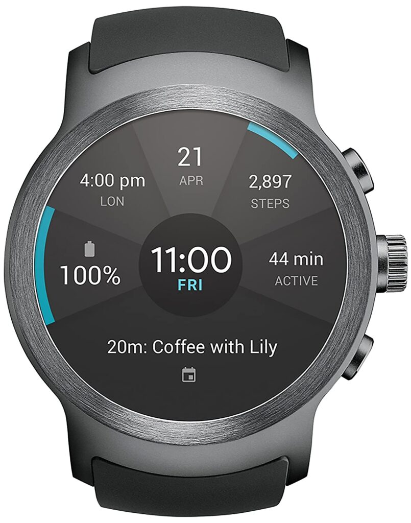 The LG Watch Sport, Impressive Watch Design, Easy-to-use Watch, Digital Interface, Modern Watch