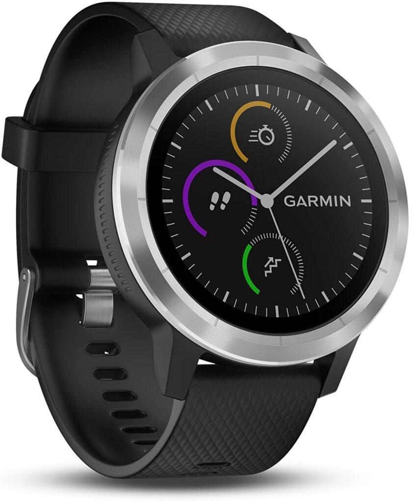 The Garmin Vivoactive 3, Functional Watch, Smartwatches, Black Watch, Digital Display