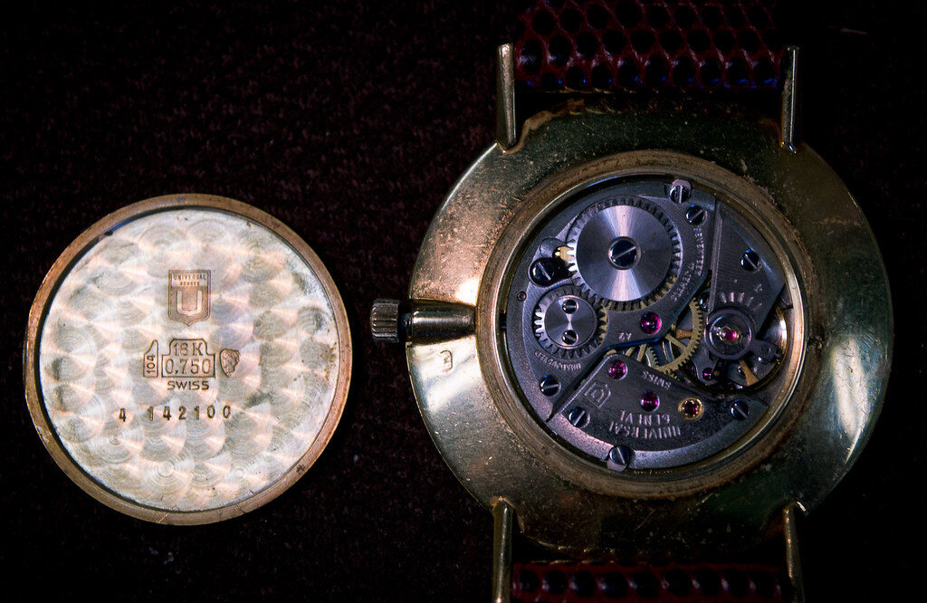 Universal Geneve, Watch Calibre, Watch Movement, Watch Interior, Watch Component, Swiss Watch