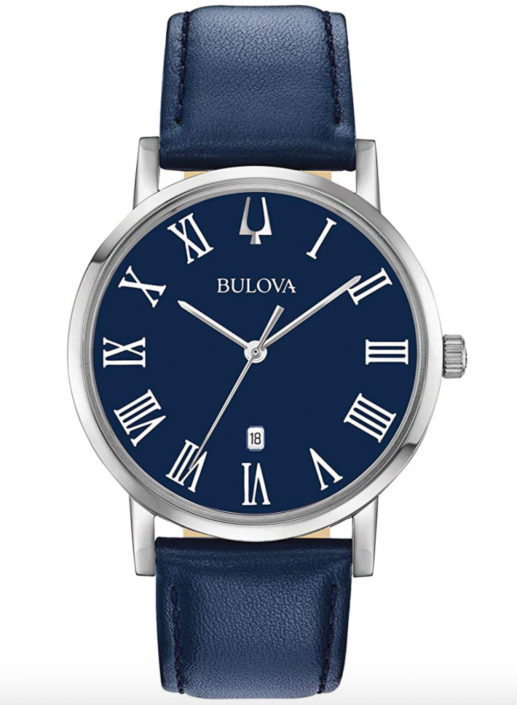 Bulova Classic Dress Watch, American Watch, Leather Watch, Luxury Watch