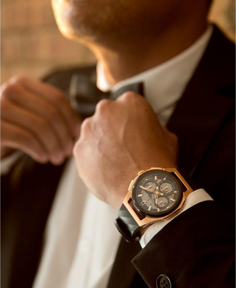 Wristwatch, Bulova Watch, Chronograph Watch, Wristwatch