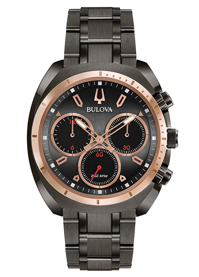 Bulova Curv Chronograph, Quartz Watch, Modern Watch, Luxury Watch