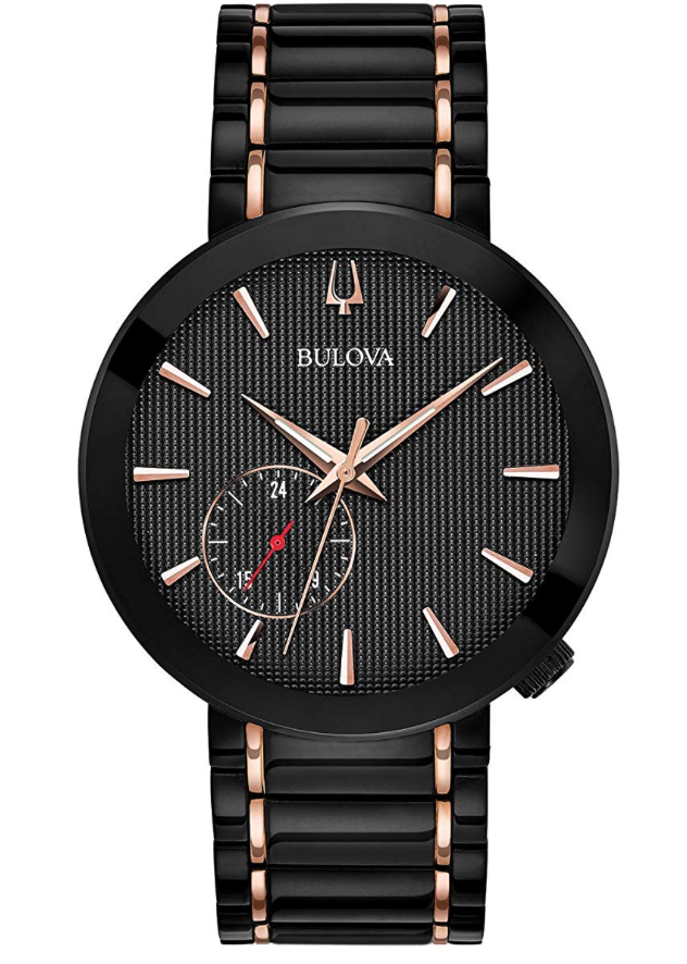 Bulova Futuro Latin Grammy Edition, Black Watch, Luxury Watch, Modern Watch, Stylish Watch