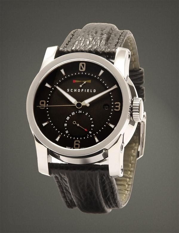 Schofield Watch, British Watch Brands, Black Dial, Classic Watch, Analogue Watch