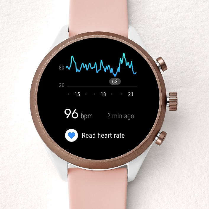 Fossil Sport smartwatch heart rate tracking