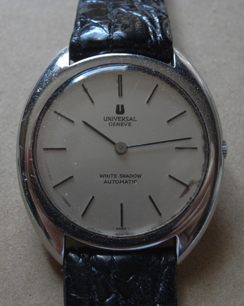 Universal Geneve Watch, Vintage Watch, Automatic Watch, Leather Strap, Analogue Watch