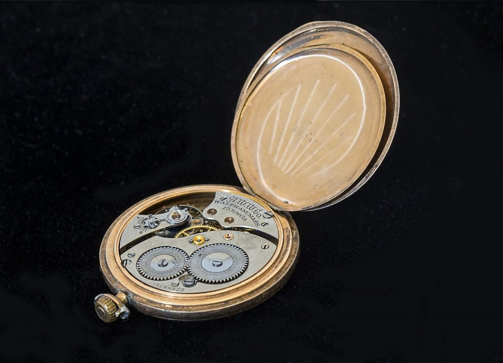 Waltham, Watch Movement, Watch Case, Pocket Watch, Luxury Watch