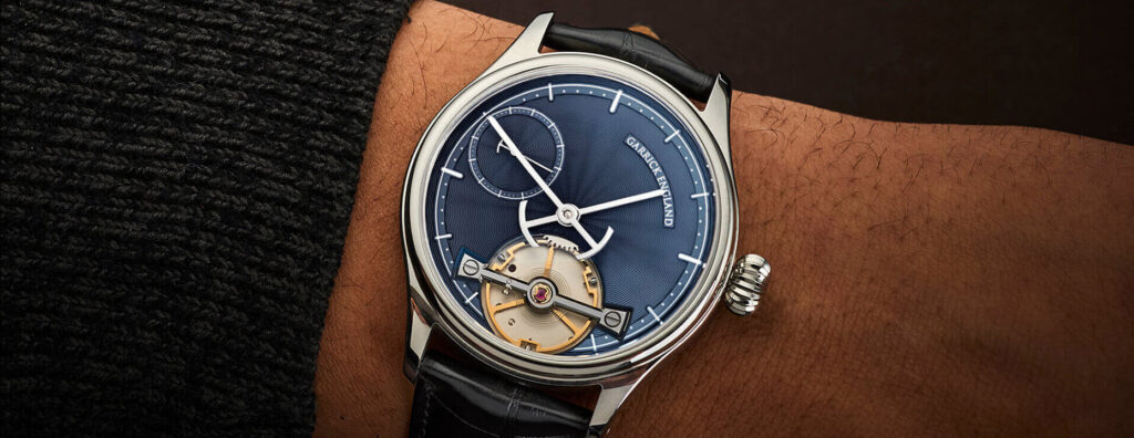 Garrick Watch, British Watch Brands, Mechanical Watch, Classic Watch, Stylish Watch, Blue Watch