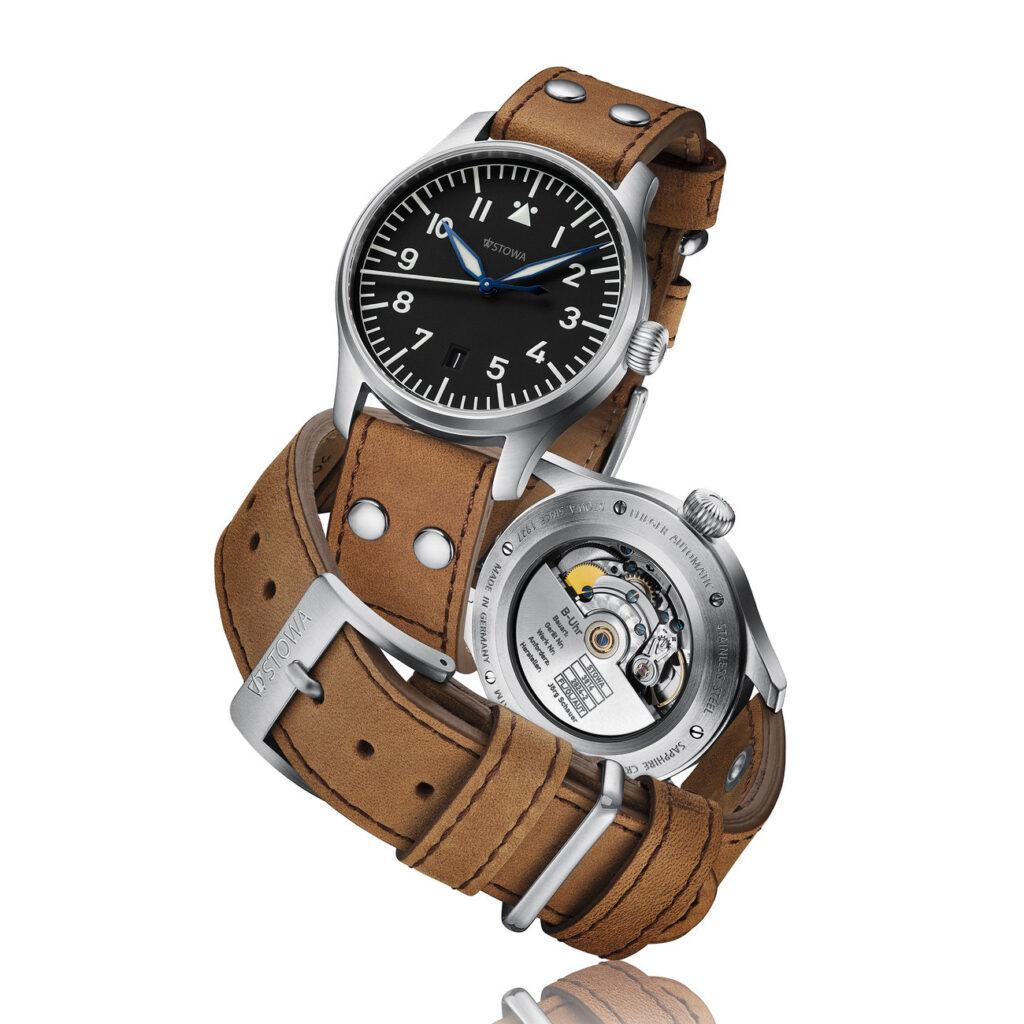 Flieger Watch, Pilot Watch, Aviation Watch, Analogue Watch, Leather Watch, Stowa Flieger Klassik 40