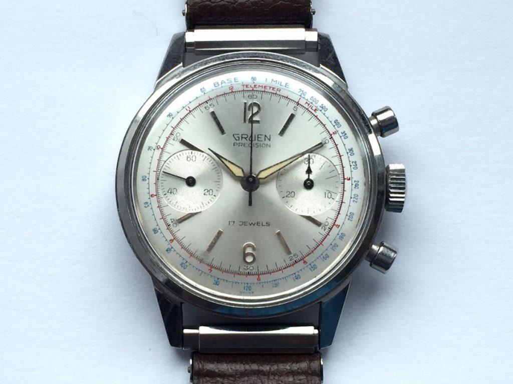 Gruen Watches, Gruen Precision, 17 Jewels, Calibration, Analogue Watch