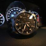 Flieger Watch, Pilot Watch, Black, Automatic Watch, Aviation Watch, Analogue Watch