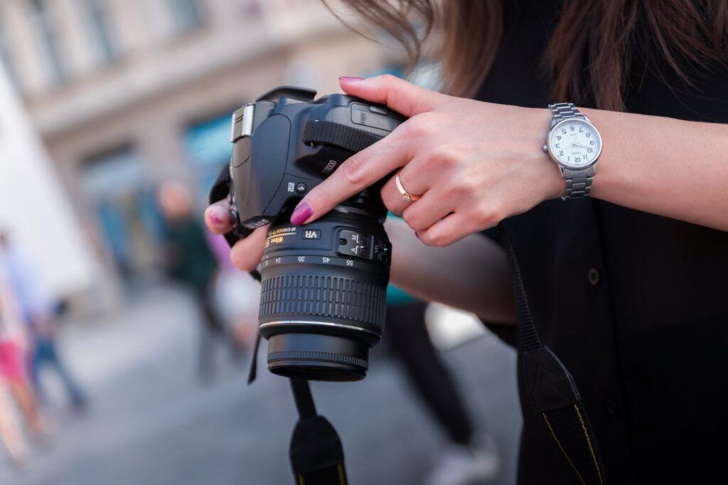 Wristwatch, Silver, Steel Watch, Wristwatch, Camera, Analogue Watch