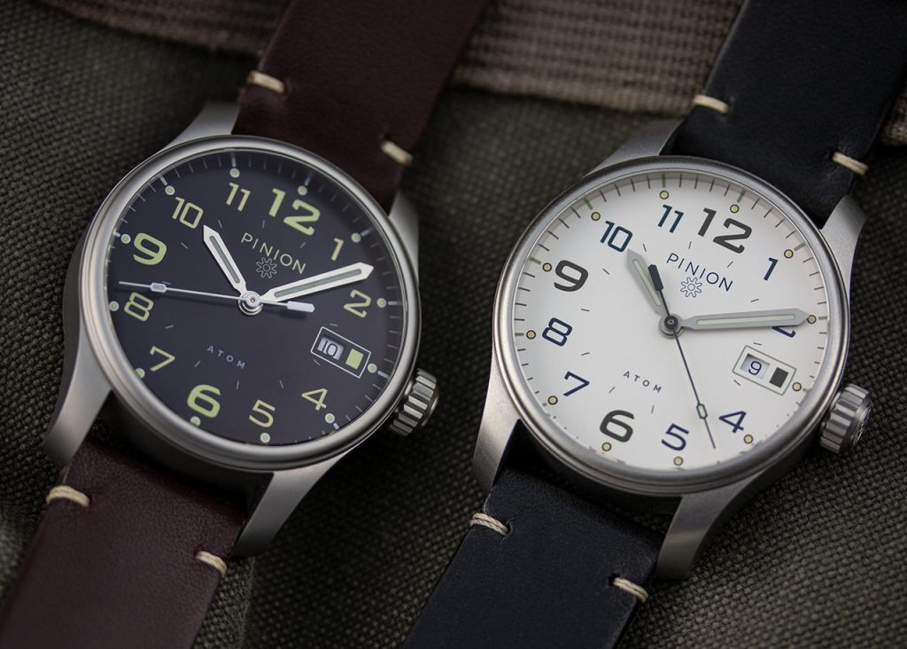 Pinion Watch, Distinct Watch, Two Watches, Sharp-looking Watches, Black Watch Face, White Watch Face