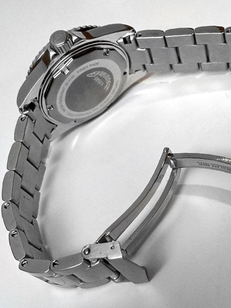 Squale 20 Atmos steel bracelet screw links