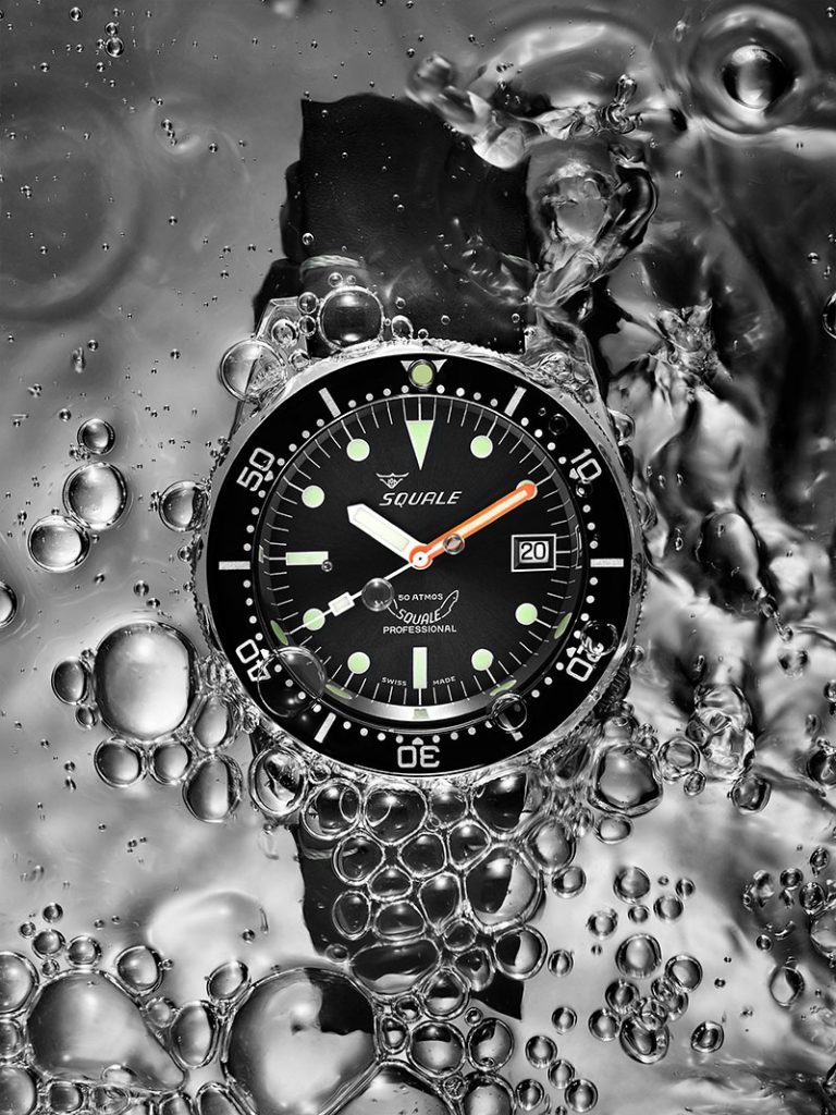 Squale Atmos 50 black dial