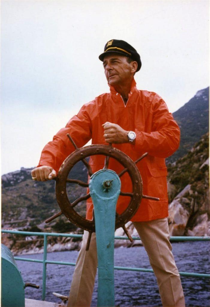 Charles Von Buren steering wheel