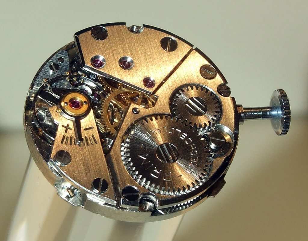Prim clockwork watchmaking