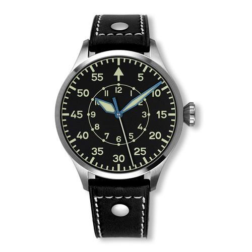 Archimede Pilot 42B, Pilot Watch, Distinctive Watch Design, Black Watch