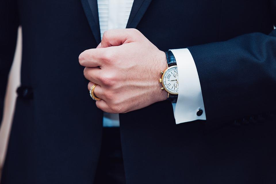 Wristwatch, Comeback, Man, Formal Wear, Stylish Watch, Slick Watch