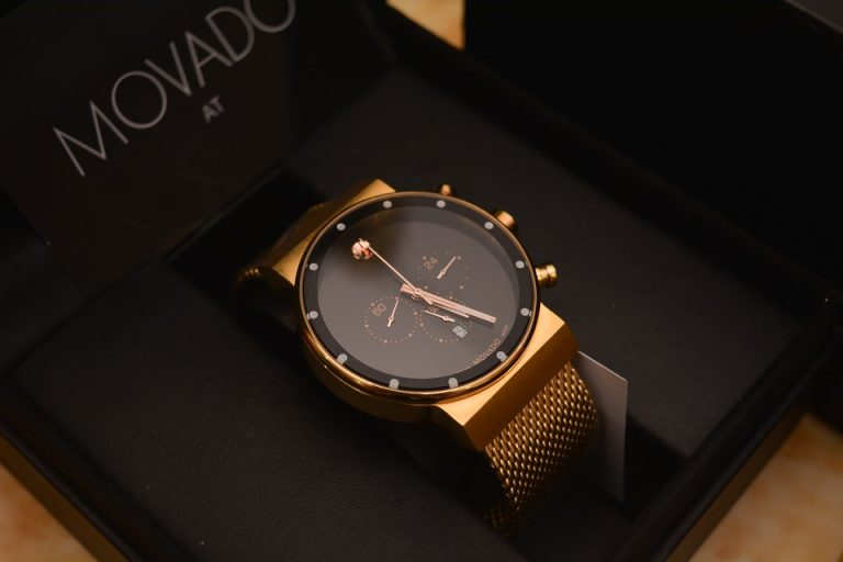 Movado Watch, Automatic Watch, Modern Watch, Watch Case