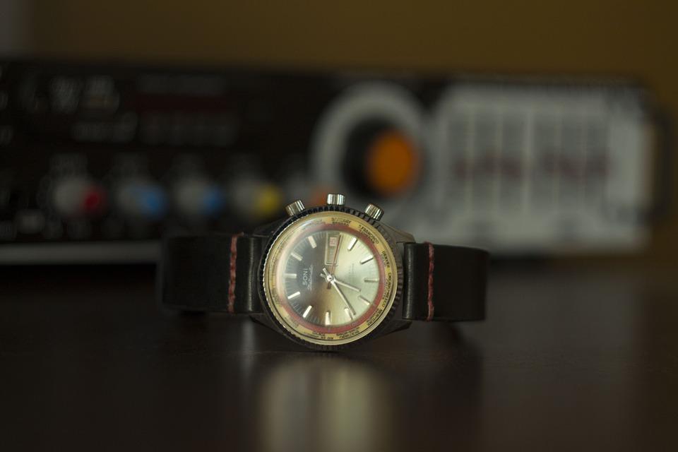Gold Watch, Wristwatch, Antique Watch, Vintage Watch, Analogue Watch
