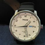 Pulsar Watch, Automatic Watch, Brown Strap, Old Watch, Classic Watch