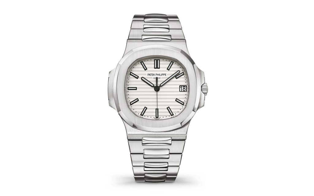 Patek Philippe Nautilus 5711/1A-011 Date/Sweep Seconds, Steel Watch, Silver Watch, Date Display, Swiss Watch