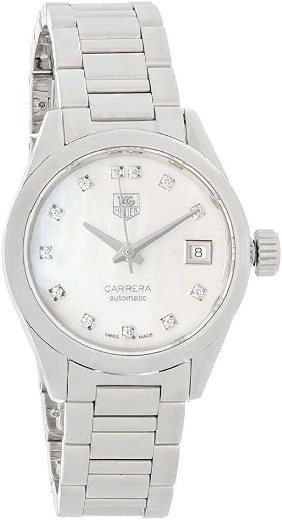 TAG Heuer Carrera Ladies' Calibre 9, Steel Watch, Automatic Watch, Swiss Watch, Date Display