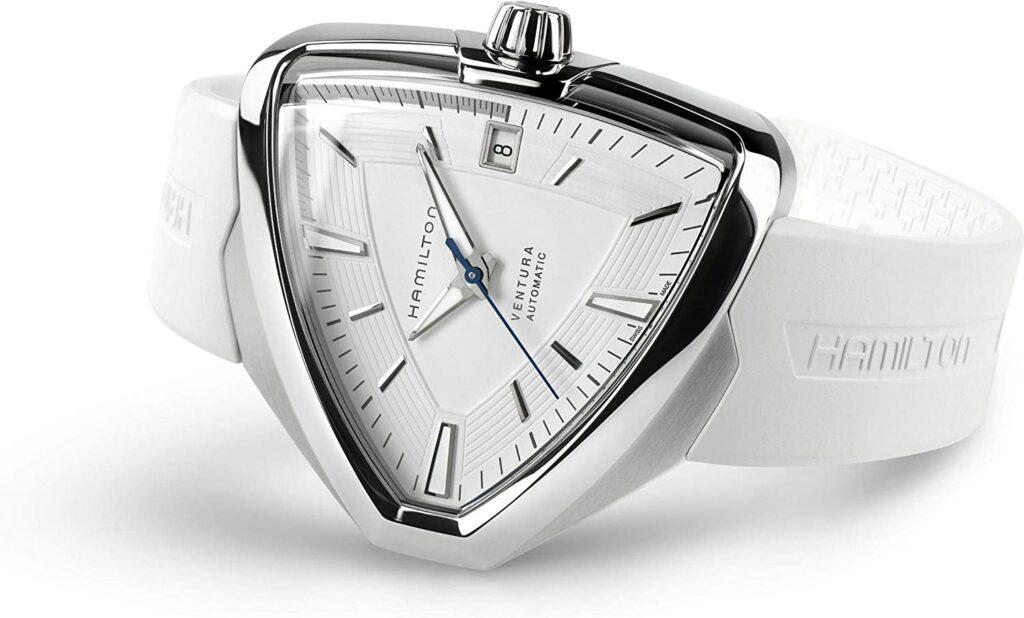 Hamilton Ventura Elvis 8 Automatic, Luxury Watch, Automatic Watch, Swiss Watch, White Watch