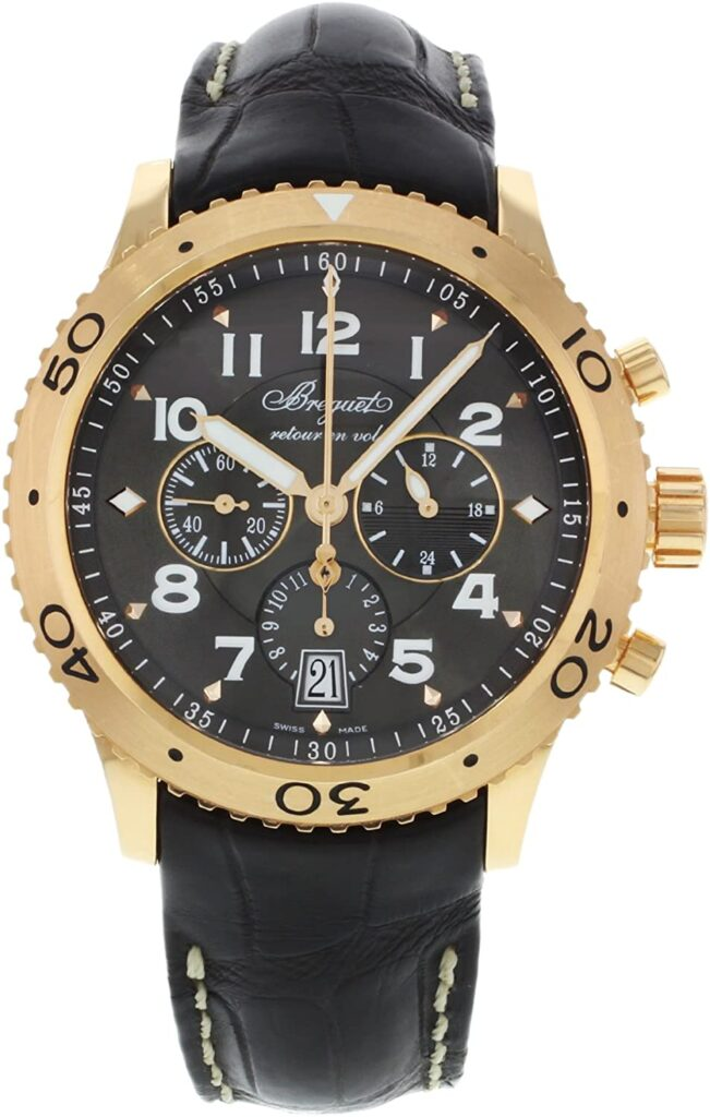 Breguet Transatlantique Type XXI Flyback Chronograph Watch, Swiss Watch, Luxury Watch, Analogue Watch