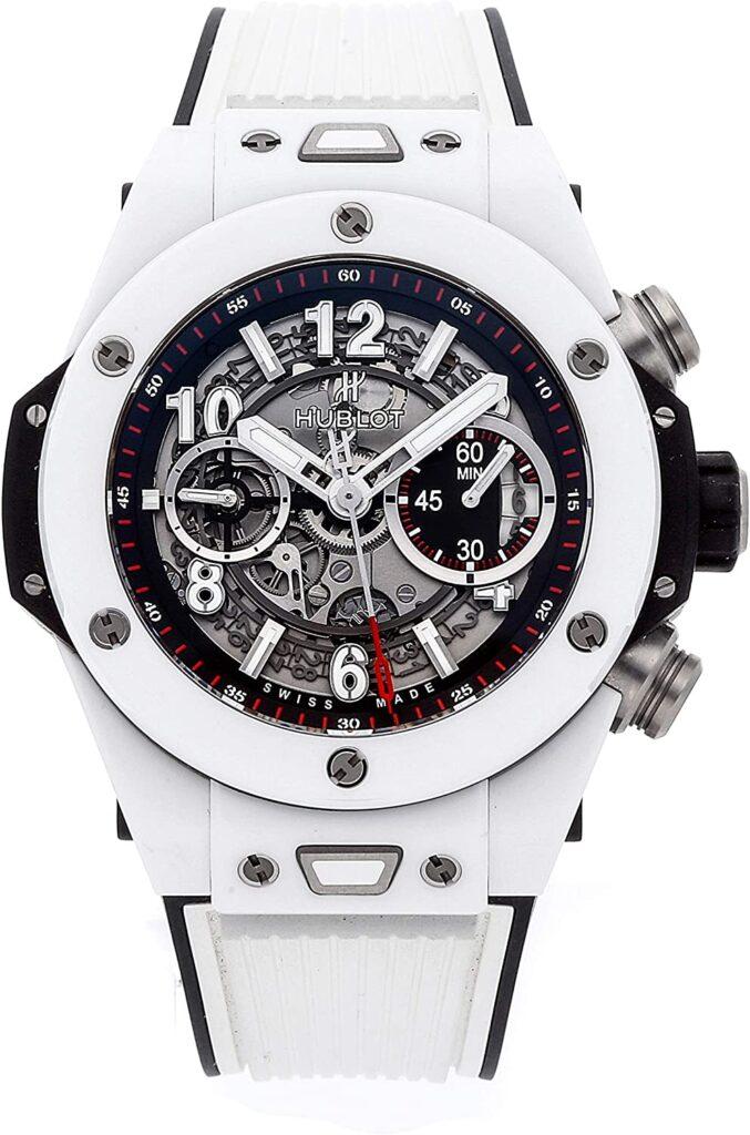 Hublot Big Bang Unico Skeleton Automatic, Luxury Watch, Swiss Watch, Skeleton Watch, White Watch