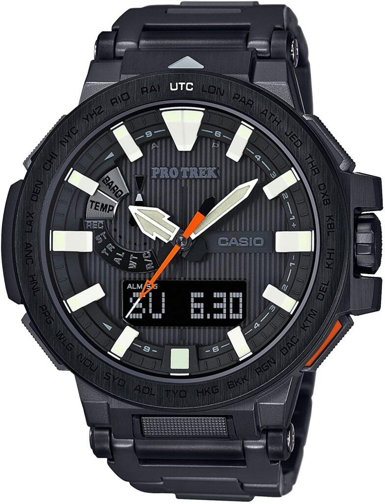 Casio Pro Trek Manaslu PRX 8000YT, Casio Sports Watches, Black Watch, Japanese Watch, Modern Watch