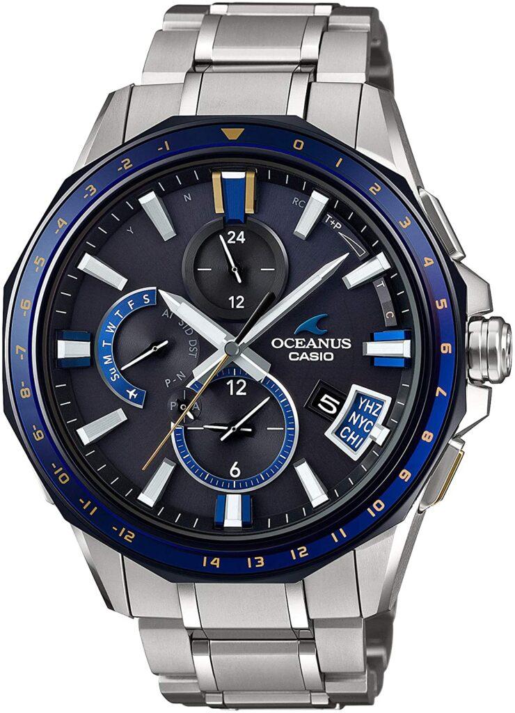 Casio Oceanus Bluetooth GPSOCW-G2000-1AJF, Casio Sports Watches, Modern Watch, Steel Watch, Japanese Watch