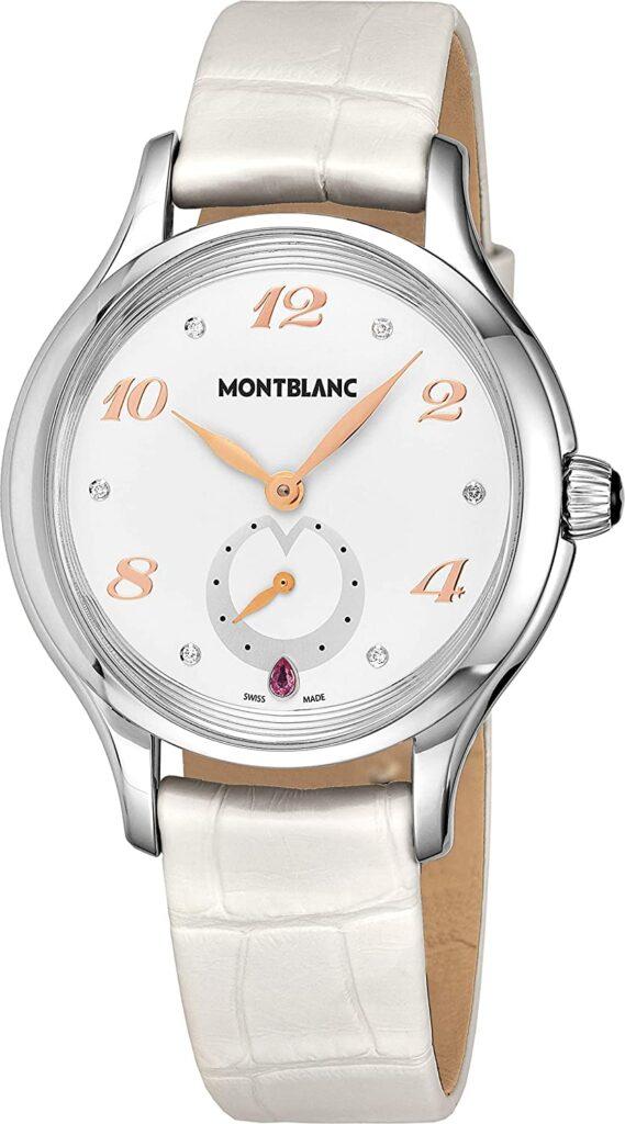 Montblanc Princesse Grace de Monaco, Silver Watch Dial, Swiss Watch, Luxury Watch