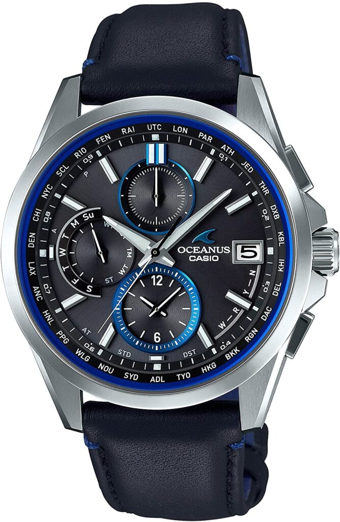 Casio Oceanus Classic Line Smart Access, Casio Sports Watches, Modern Watch, Automatic Watch, Date Display
