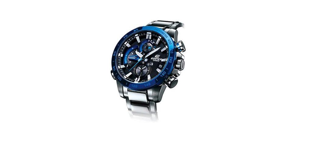 Casio Edifice EQB- 800DB-1AJF, Swiss Watch, Automatic Watch, Modern Watch, Steel Watch