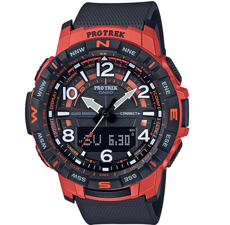 Casio Pro Trek Bluetooth PRT-B50-4, Casio Sports Watches, Modern Watch, Durable Watch, Japanese Watch