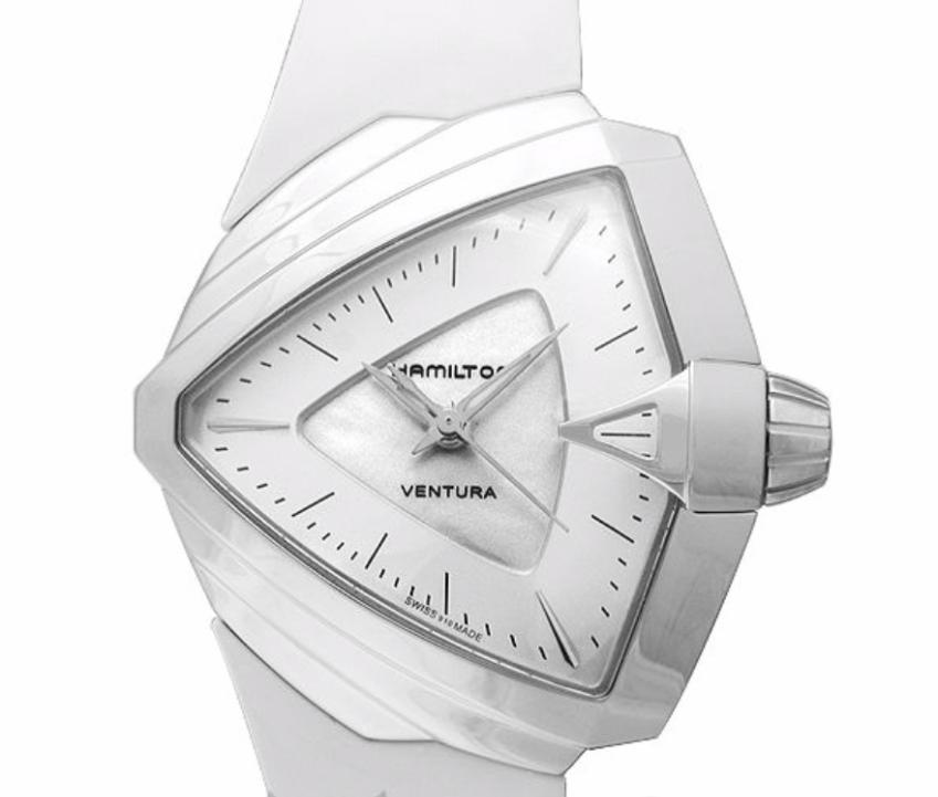 Hamilton Ventura S Quartz, Silver Watch, Swiss Watch, Luxury Watch, Elegant Watch
