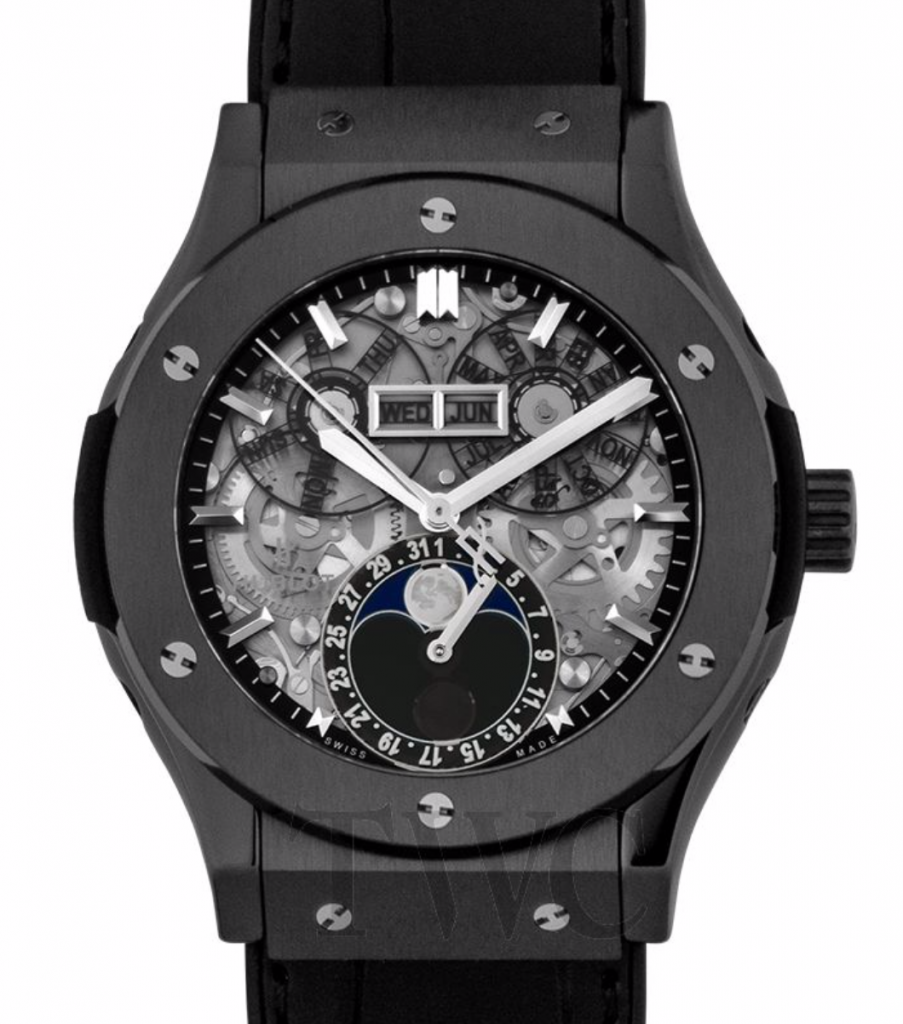Hublot Classic Fusion Aerofusion Moonphase Skeleton