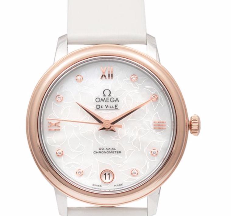 Omega De Ville Prestige Butterfly, Luxury Watch, Swiss Watch, Analogue Watch