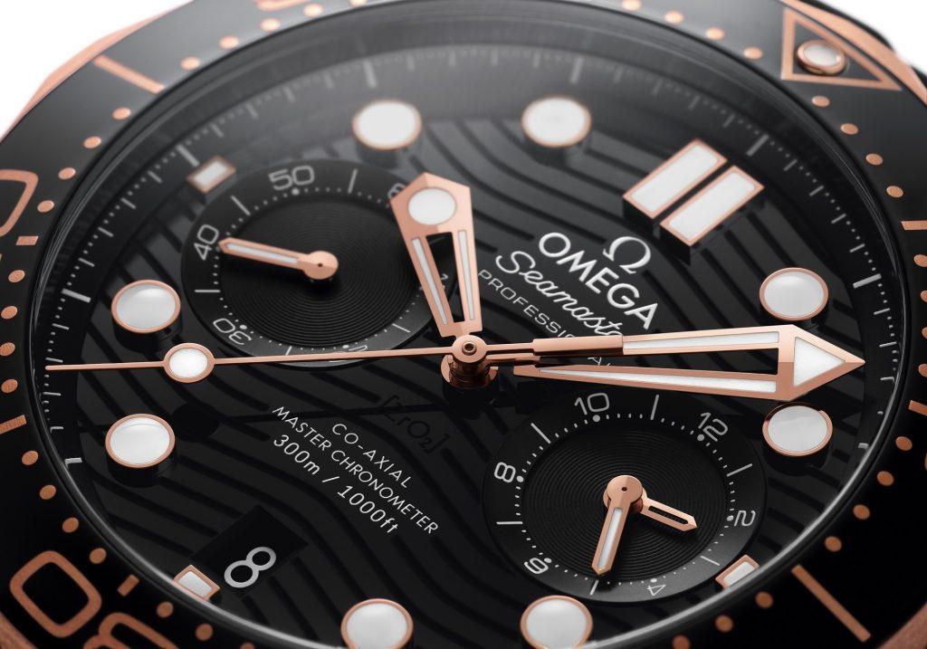 Omega Seamaster 300M Chronograph Up Close