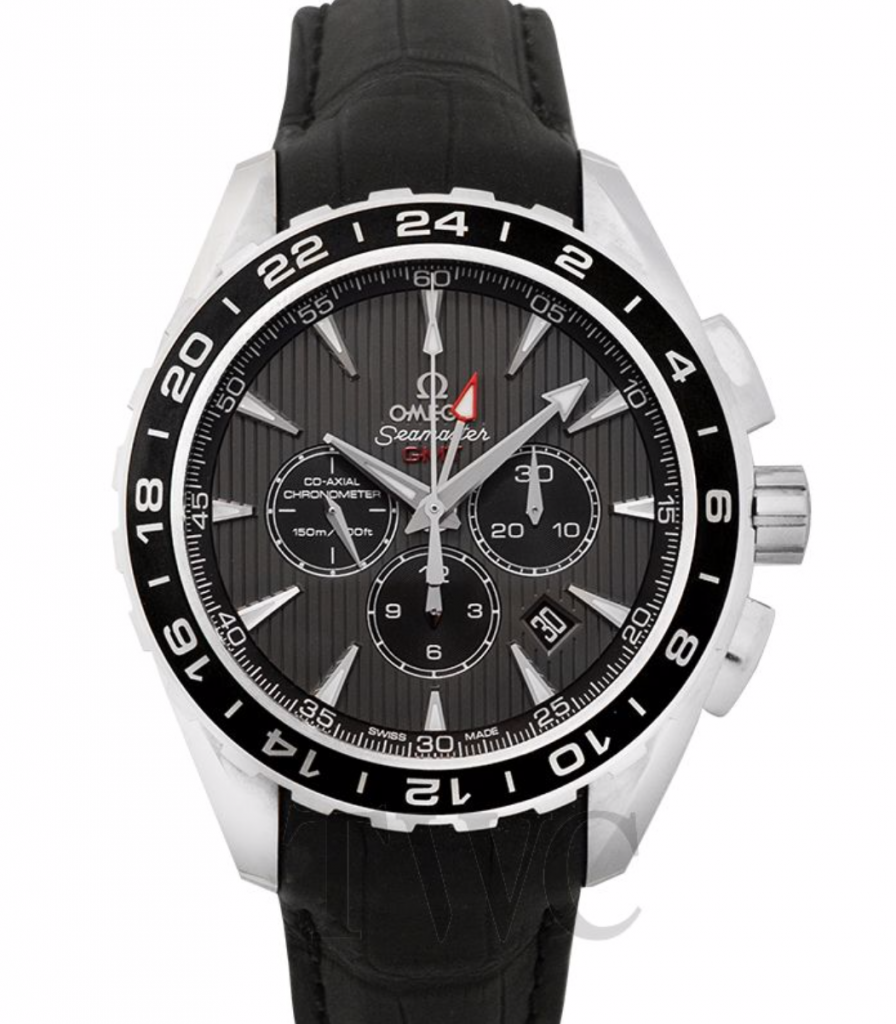 Omega Seamaster Aqua Terra Co-Axial GMT Chronograph Watch
