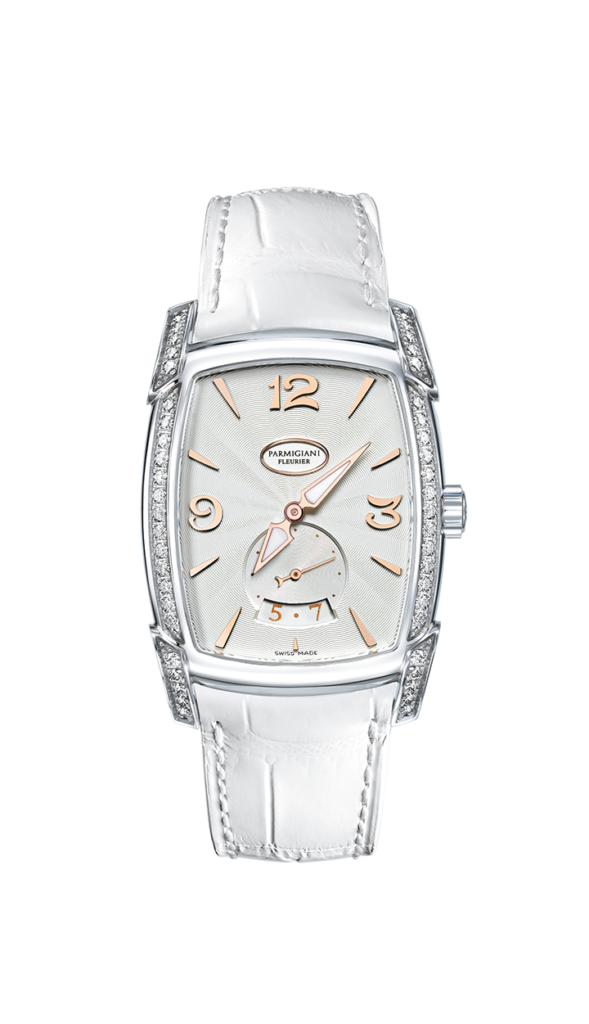 Parmigiani Fleurier Kalparisma Agenda, Luxury Watch, Swiss Watch, White Watch Strap