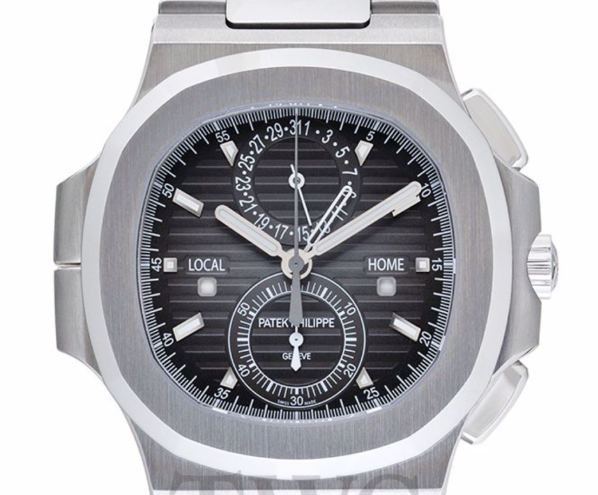Patek Philippe Nautilus Travel Time Chronograph, Steel Watch, Swiss Watch, Stylish Watch, Unique Watch