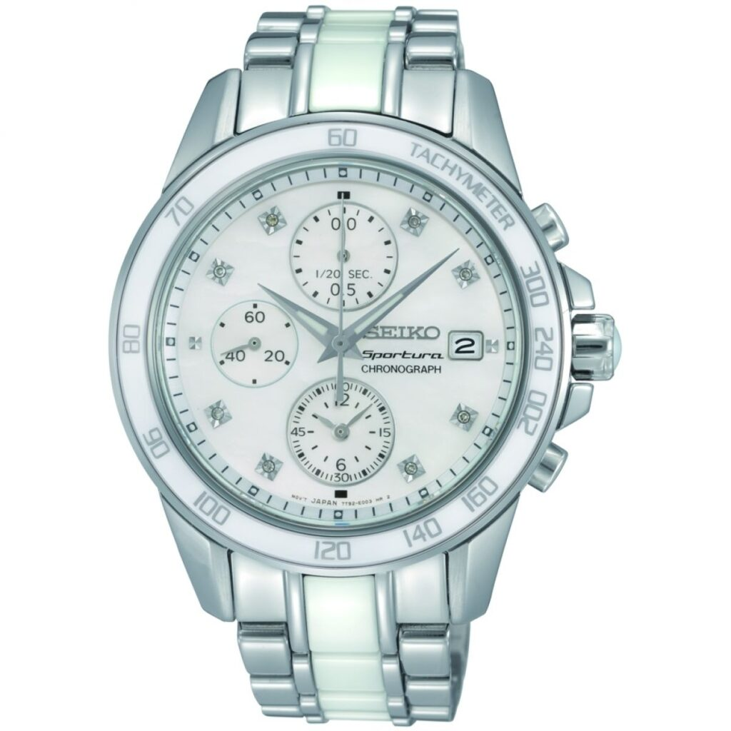 Seiko Sportura Ladies' Chronograph
