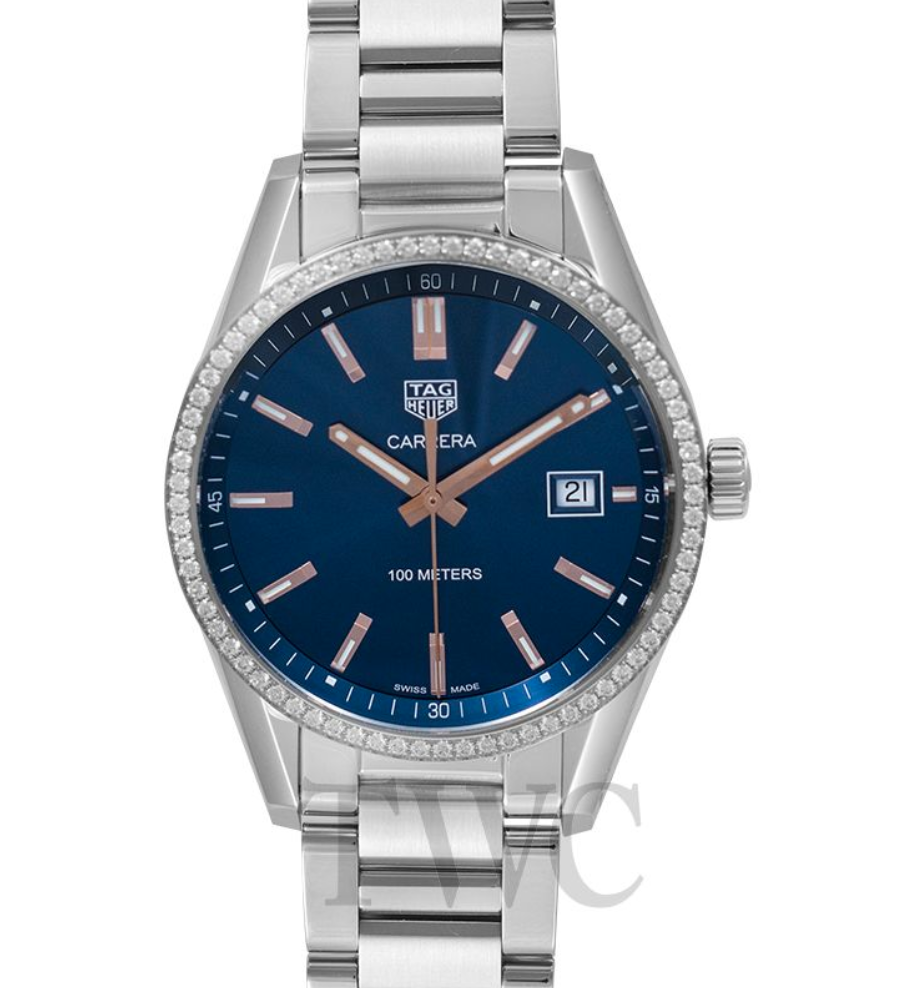 TAG Heuer Carrera Ladies' Quartz Blue Dial