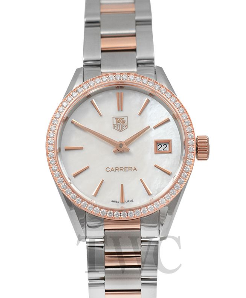 TAG Heuer Carrera Ladies Quartz Mother Of Pearl Dial