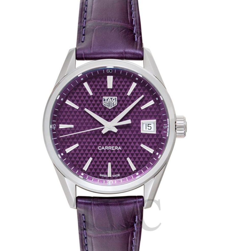 TAG Heuer Carrera Ladies' Quartz Purple Dial